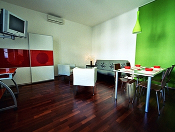 Click for larger picture of this gay accommodation Budapest!