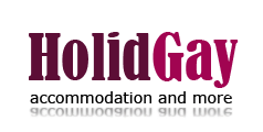 Budapest gay accommodation - Holidgay logo