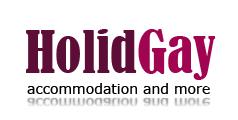 Budapest gay accommodation - Holidgay logo
